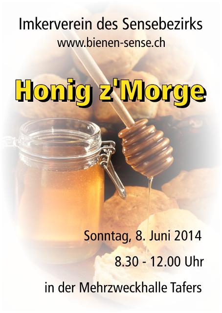 Honig z'Morge 2014 am 8. Juni 2014 in der Mehrzweckhalle Tafers