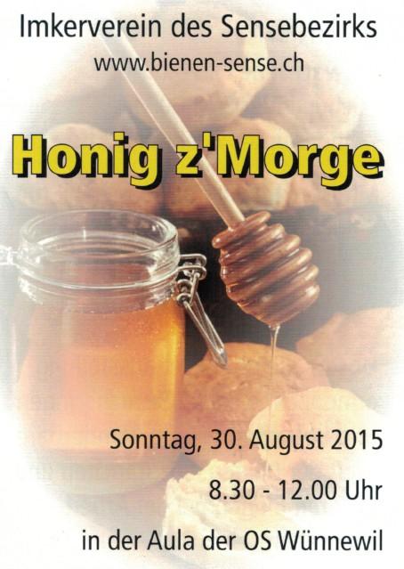 Flyer honigz'Morge 1514072015