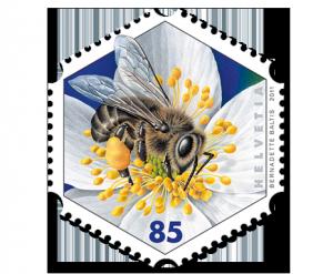 Sonderbriefmarke Honigbiene
