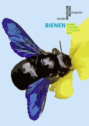 Flyer Bienenausstellung im Sensler Museum